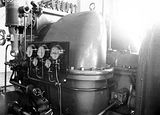 Picture relating to Kingston - titled 'Kingston Power Station. BTH Curtis 1500kW Turbo Alternator. Installed Oct 1927.'