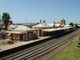Picture relating to Wagga Wagga - titled 'Wagga Wagga Railway Station'