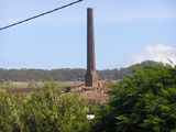 Picture relating to Mount Morgan - titled 'Mount Morgan Smoke Stack'