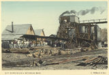 Picture relating to Charters Towers - titled 'Day Dawn Block and Wyndham Mine, Charters Towers, 1904'