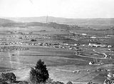 Picture relating to Red Hill - titled 'View from Red Hill over Manuka and Kingston to Duntroon'