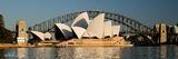 Picture relating to Sydney Harbour - titled 'Icons One and Two - Sydney Australia.  Sydney Harbour'