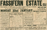 Picture relating to Fassifern - titled 'Estate map of Fassifern Estate including Moogera Paddocks and Kents Lagoon, Fassifern, Queensland, 1906'