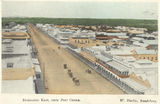 Picture relating to Bundaberg - titled 'Looking east over the town from the post office, Bundaberg, ca. 1914'