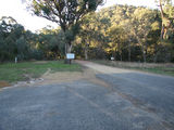 Picture relating to Yass Road - titled 'Yass Road - where the dirt starts'