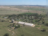 Picture of / about 'Greenethorpe' New South Wales - Greenethorpe from the air