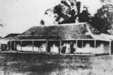 Picture relating to Beaudesert - titled 'Homestead on Beaudesert Station, Brisbane, ca. 1885-1900'