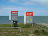 Picture relating to The Coorong - titled 'The Coorong Boat Ramp'