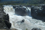 Picture of / about 'Clarence River' New South Wales - Clarence Gorge - Rainbow Falls