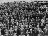 Picture relating to Brisbane - titled 'Pupils from Brisbane State High School, Brisbane, Queensland, 1932'