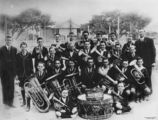 Picture relating to Tweed Heads - titled 'Tweed Heads Public School Band, Tweed Heads, New South Wales, ca. 1930'