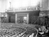 Picture relating to Parliament House - titled 'Old Parliament House chamber, under construction.'