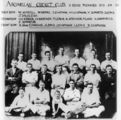 Picture relating to Airdmillan - titled 'Group portrait of the Airdmillan Cricket Club, ca. 1930'