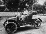Picture relating to Brisbane - titled 'Doctor Archibald Brockway in a Renault roadster AX, ca. 1908'