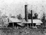 Picture relating to Queensland - titled 'Barrie sugar mill near Mackay about 1876'