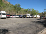 Picture relating to Nitmiluk Visitor Centre - titled 'Nitmiluk Visitor Centre Parking'