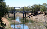 Picture of / about 'Wilcannia' New South Wales - Bridge at Wilcannia