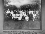 Picture relating to Charters Towers - titled 'Delegates to the North Queensland Racing Association's Annual General Meeting, Charters Towers, 1922'