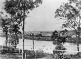 Picture relating to Brisbane River - titled 'Toowong Reach of the Brisbane River, ca. 1884'