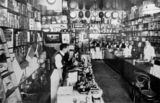 Picture relating to Brisbane - titled 'Grocery store of H. V. Birchley, Brisbane, ca. 1909'