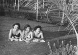 Picture of / about 'Mount Isa' Queensland - Sunbathers at the new Mount Isa swimming pool, 1954