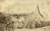 Picture relating to Beenleigh - titled 'Manager's house at Yellowwood Sugar Plantation, Beenleigh'