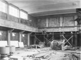 Picture relating to Acton - titled 'Australian Institute of Anatomy- Main Exhibition Hall, under construction McCoy Circle, Acton.'