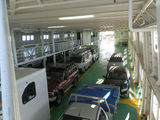 Picture relating to Queenscliff - titled 'Queenscliff Ferry Vehicle Deck'