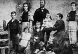 Picture relating to Queensland - titled 'Bennett family'