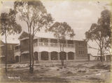 Picture relating to Charters Towers - titled 'Charters Towers hospital, ca. 1888'