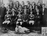 Picture relating to Maryborough - titled 'Third Grade Wallaroo Rugby League Football Team from Maryborough, Premiers in 1912'
