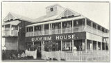 Picture relating to Buderim - titled 'Buderim House in the Sunshine Coast hinterland, ca. 1917'