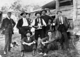 Picture of / about 'Miriam Vale' Queensland - Group of men at Miriam Vale, 1911