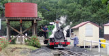 Picture of / about 'Gembrook' Victoria - Puffing Billy Steam Locomotive at Gembrook