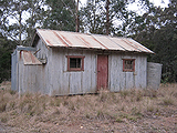 Picture relating to Tallaganda State Forest - titled 'Old Forestry Shed in Tallaganda State Forest'