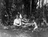 Picture relating to Queensland - titled 'Family group excursion in the bush'