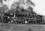Picture of / about 'Cordalba' Queensland - Portrait of canecutters at Cordalba, Queensland, during the sugar workers strike of 1911