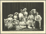 Picture relating to Gympie - titled 'Some of the players of the Black and White Costume Company of Gympie, 1917'
