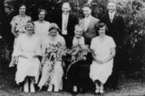 Picture relating to Capalaba - titled 'Wedding day of Margaret Annie Mussig in Capalaba, Queensland'