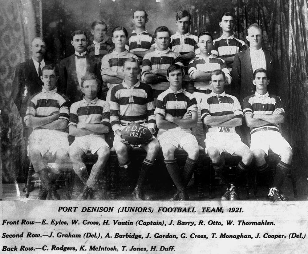 Picture of / about 'Port Denison' Queensland - Port Denison (Juniors) Rugby League Team, 1921