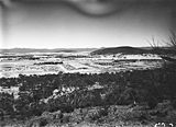 Picture relating to Reid - titled 'Reid and Braddon from Mt Ainslie, Ainslie Hotel on right, Civic Centre in centre, Black Mountain on the horizon.'