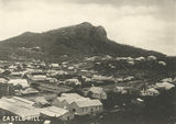 Picture relating to Townsville - titled 'Castle Hill and the township, Townsville, ca. 1900'