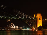 Picture relating to Sydney Harbour - titled 'Sydney Harbour By Night 8'