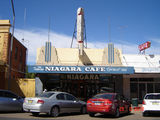 Picture relating to Gundagai - titled 'The famous Niagara Cafe on Sheridan St'