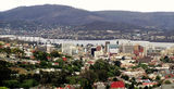 Picture relating to Hobart - titled 'Hobart and Derwent River'