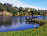 Picture relating to Daylesford - titled 'The beautiful Lake Daylesford'