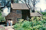 Picture relating to Melbourne - titled 'Cook's Cottage Fitzroy Gardens Melbourne'