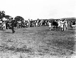 Picture relating to Acton - titled 'Part of crowds at School Sports Day at Acton Sports Ground'