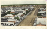 Picture relating to Bundaberg - titled 'View over Bundaberg looking south from the post office, Bundaberg, ca. 1914'