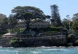 Picture relating to Sydney Harbour - titled 'Kirribilli House  Sydney Harbour'
